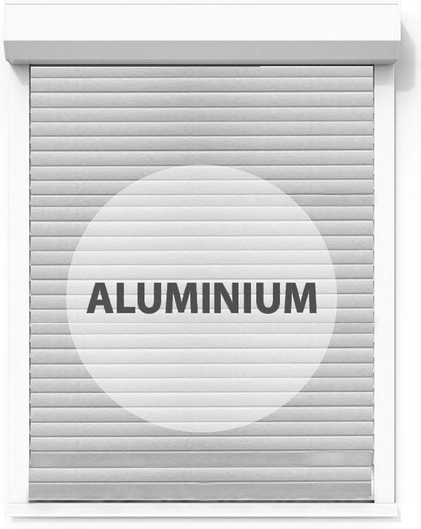 Rollladen Alluminium
