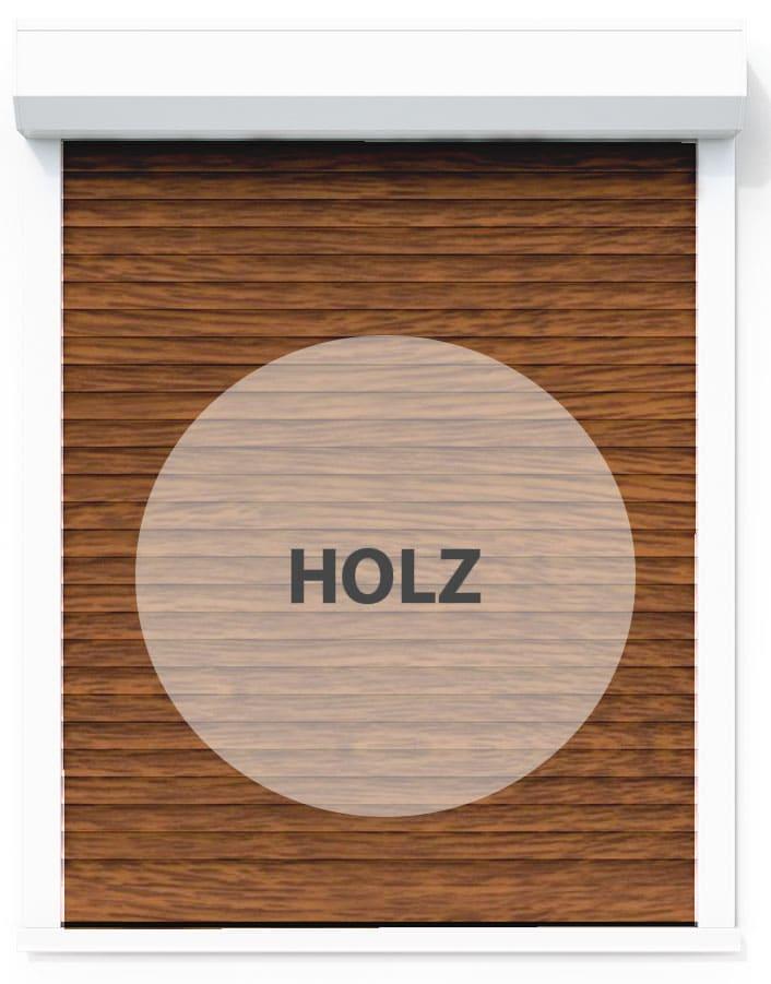 Rollladen Holz
