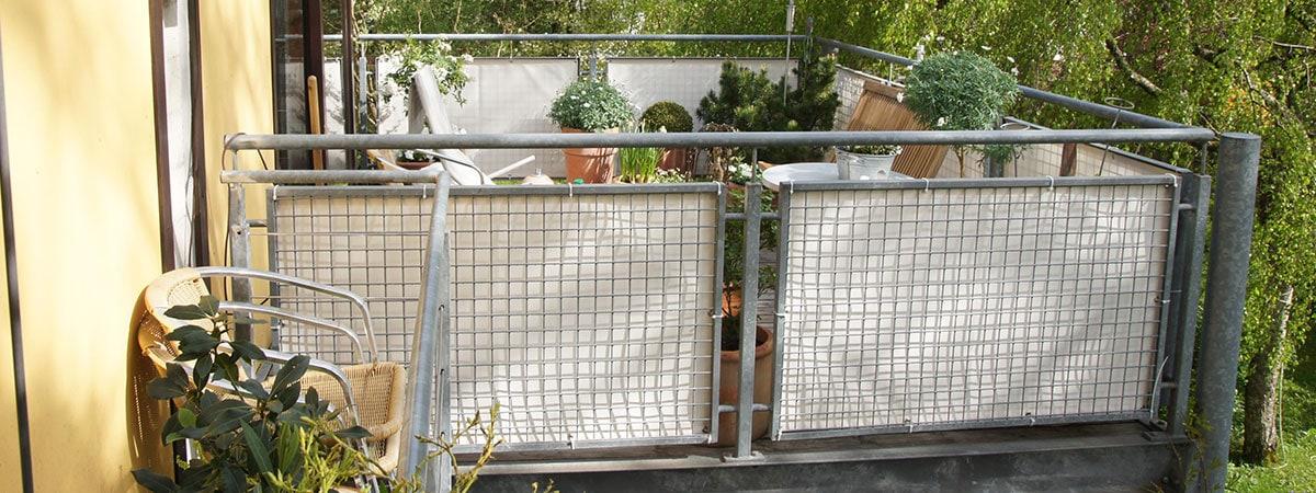 Balkon Sichtschutz Nach Maãÿ | Balkonbespannungen Sichtschutz Jalousiescout De