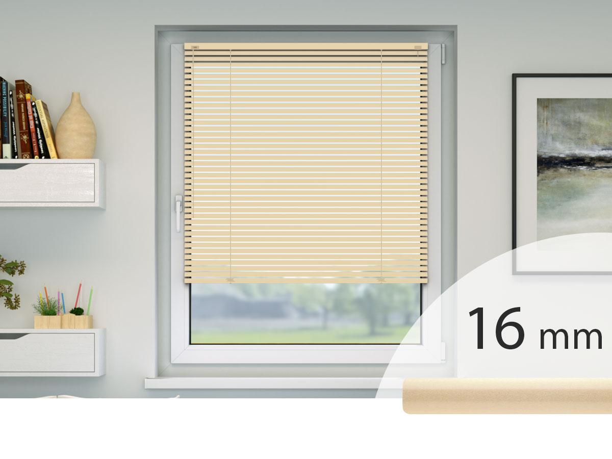 Jalousien Im Fensterrahmen.Jalousien Nach Maß Jedes Material Auch Sonderformen