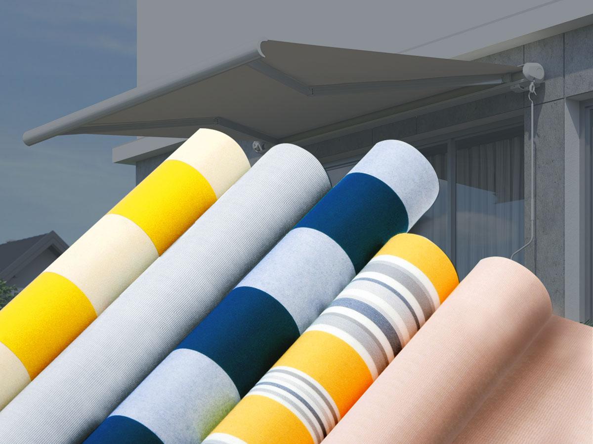 Amüsant Markisenstoff Austauschen Sammlung Von Premium-markisenstoffe Nach Maß