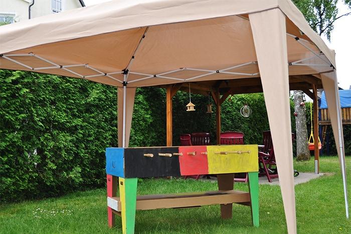 faltpavillon faltpavillon wasserdicht 3x3 und mehr. Black Bedroom Furniture Sets. Home Design Ideas