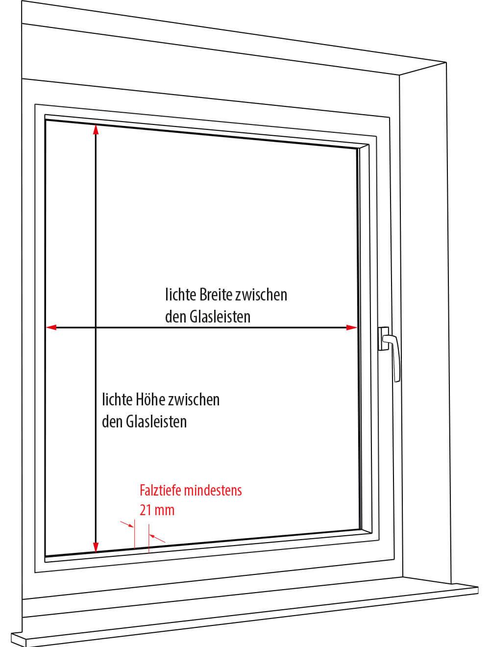 Plissee rollo messen my blog for Fenster messen