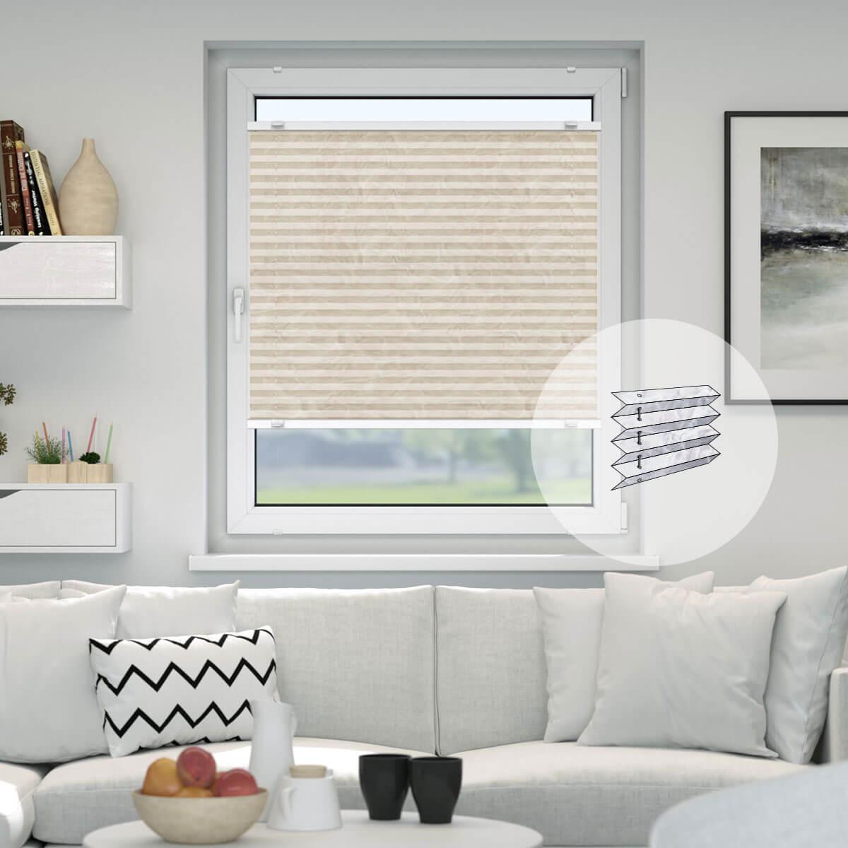 plissee 115 cm breit qp62 hitoiro. Black Bedroom Furniture Sets. Home Design Ideas