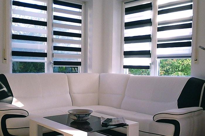 doppelrollo alle gr en varianten. Black Bedroom Furniture Sets. Home Design Ideas