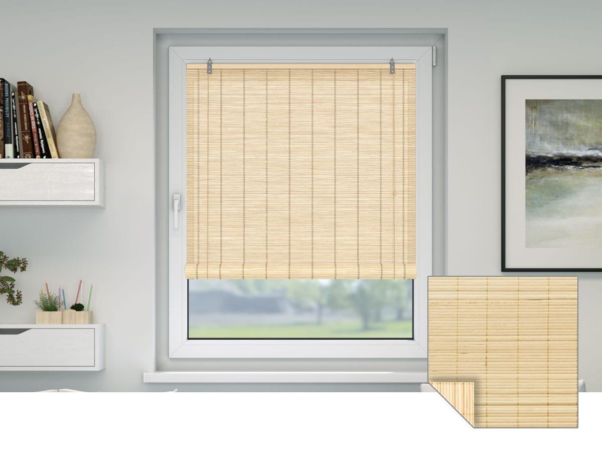 rollos ohne bohren kaufen klemmrollos oder zum kleben. Black Bedroom Furniture Sets. Home Design Ideas