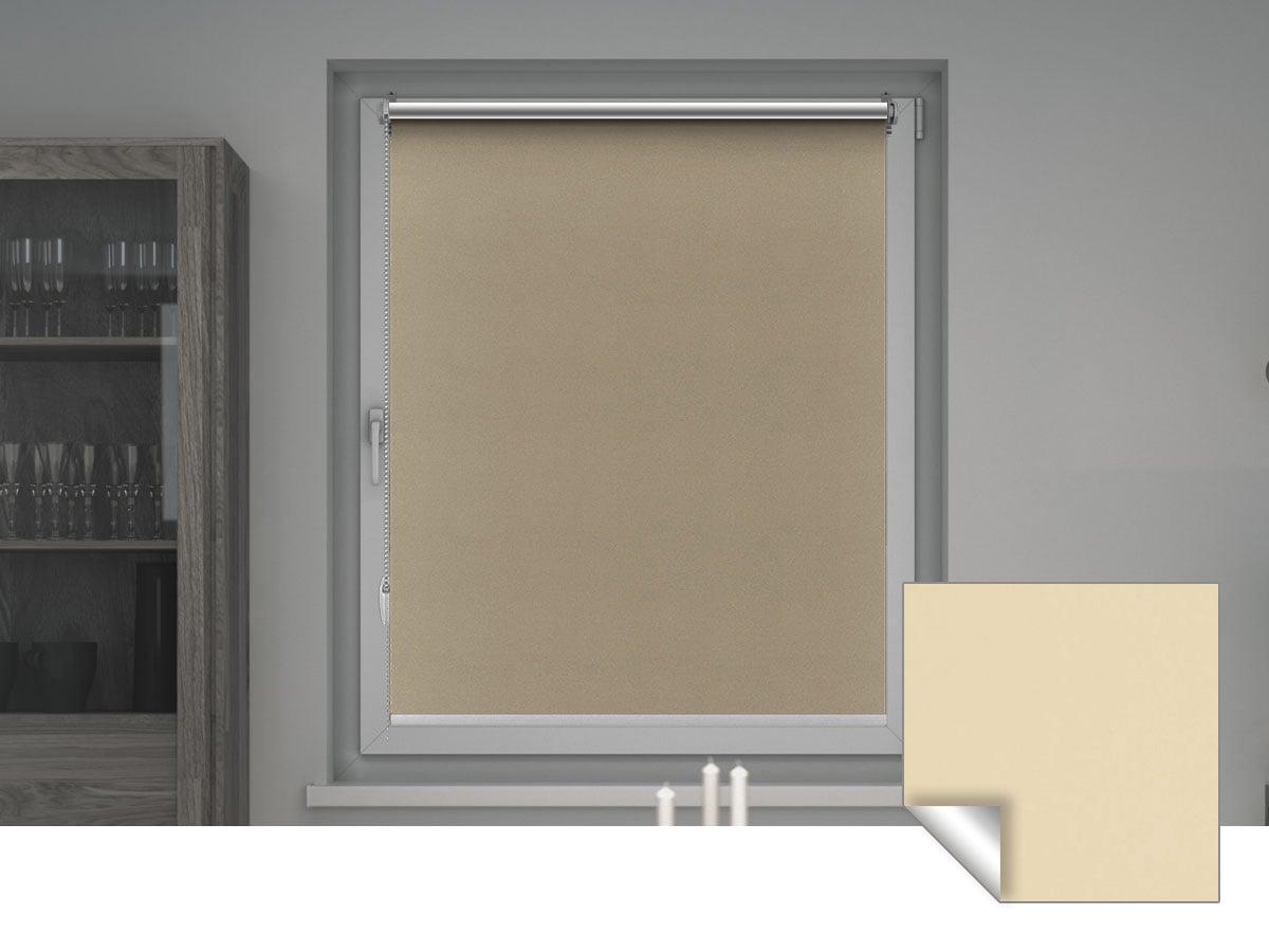 Verdunkelungsrollo Dunkelblau 35x210cm Verdunklungsrollo Seitenzug Tür Fenster