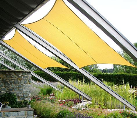 sonnensegel-quadratisch-gelb