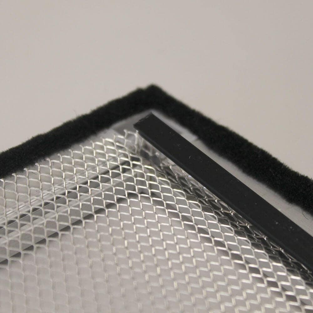 Lichtschachtabdeckung mit Aluminiumrahmen | Schritt 6
