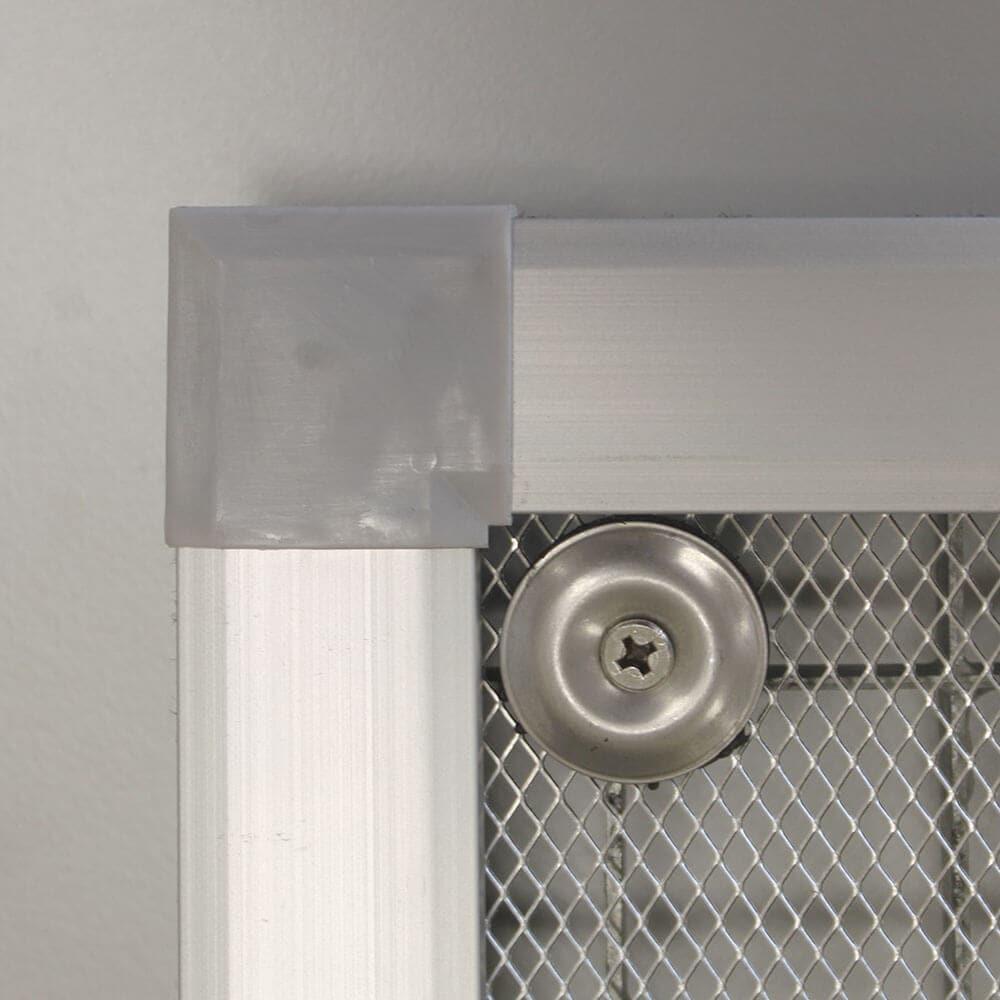 Lichtschachtabdeckung mit Aluminiumrahmen | Schritt 7