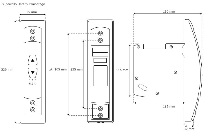 elektrischer gurtwickler superrollo rolladen rollomotor. Black Bedroom Furniture Sets. Home Design Ideas