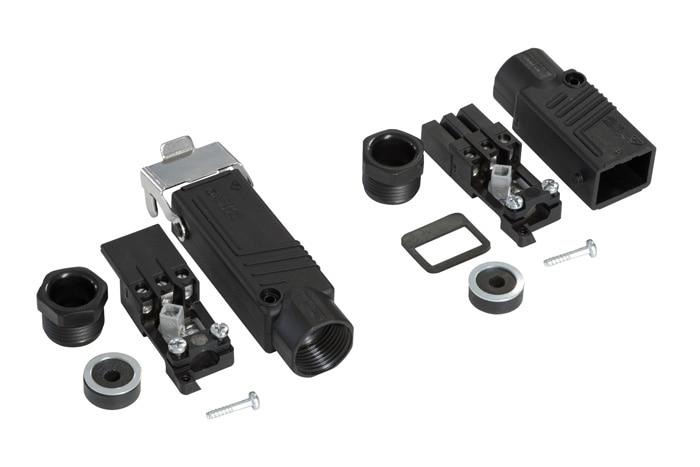 hirschmann stecker set kupplung stak 3 stecker stas 3. Black Bedroom Furniture Sets. Home Design Ideas