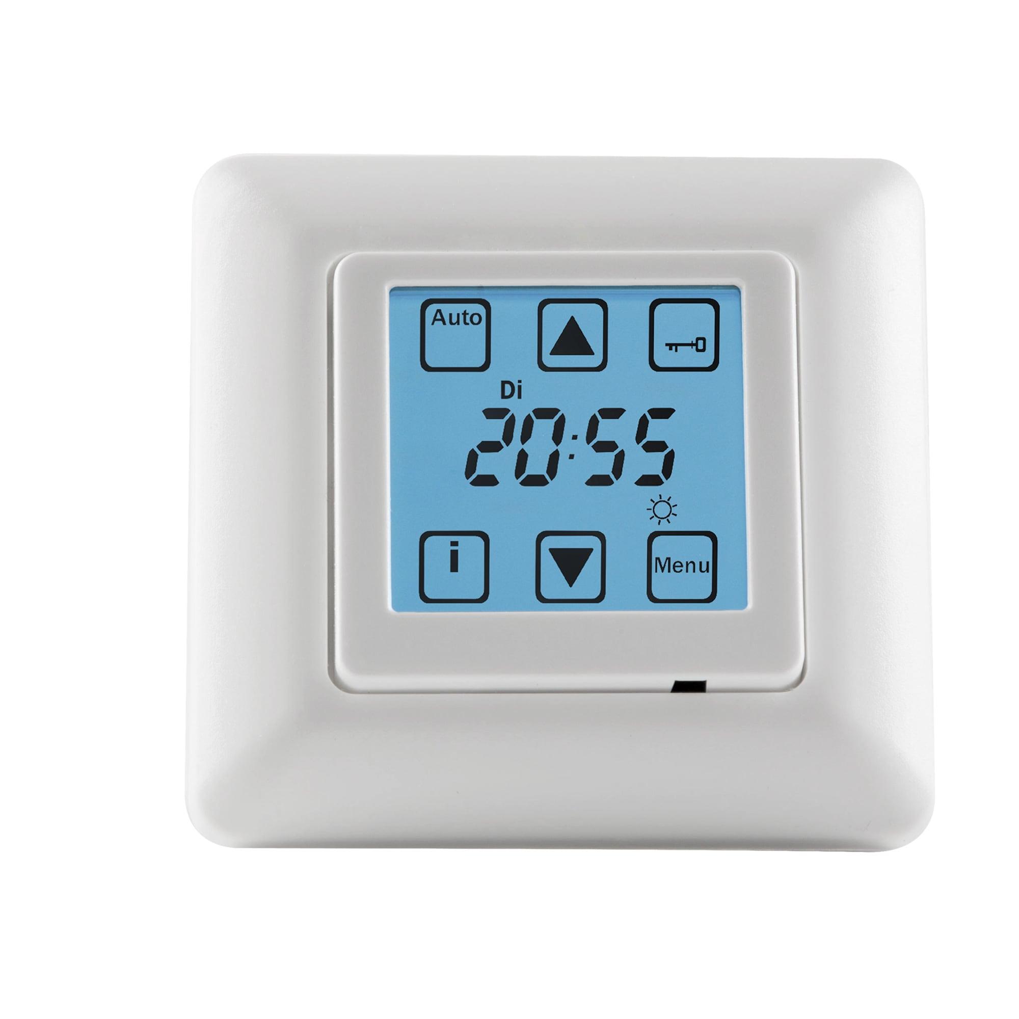 zeitschaltuhr rolladen digital rollladen timer unterputz vestamatic quattro s50 ebay. Black Bedroom Furniture Sets. Home Design Ideas