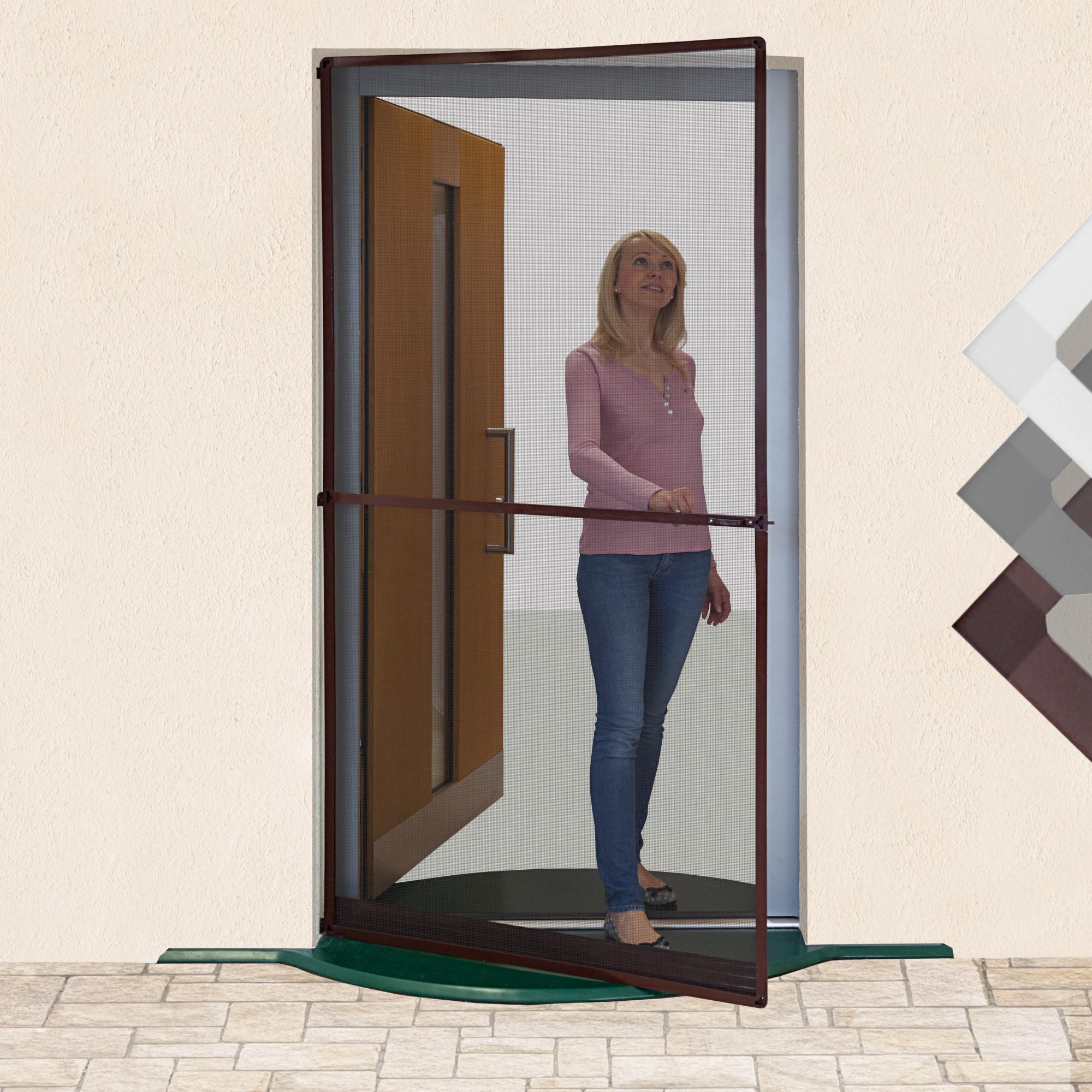 insektenschutzt r insektenschutz t re fliegengitter alurahmen dreht r m ckent r ebay. Black Bedroom Furniture Sets. Home Design Ideas