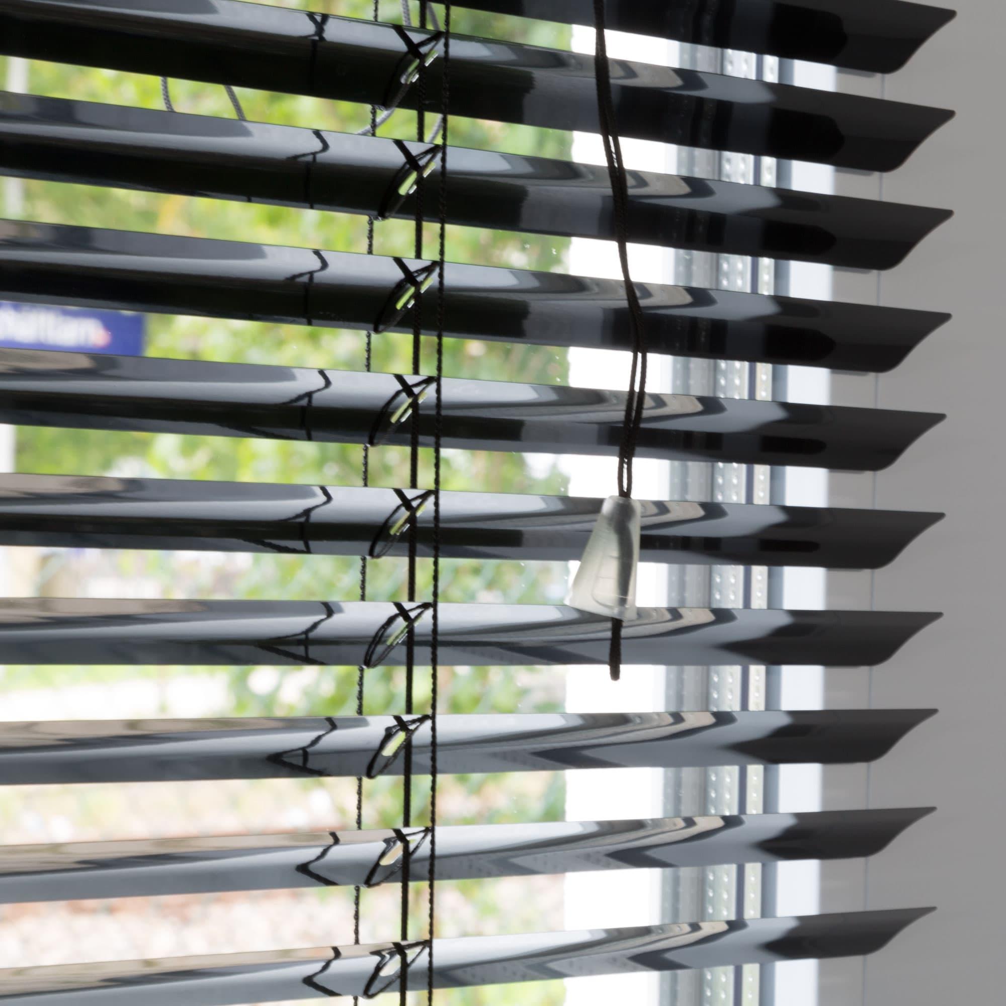 20000020 i4 schwarz - Persiana de aluminio para ventanas y puertas Victoria M también sin taladrar