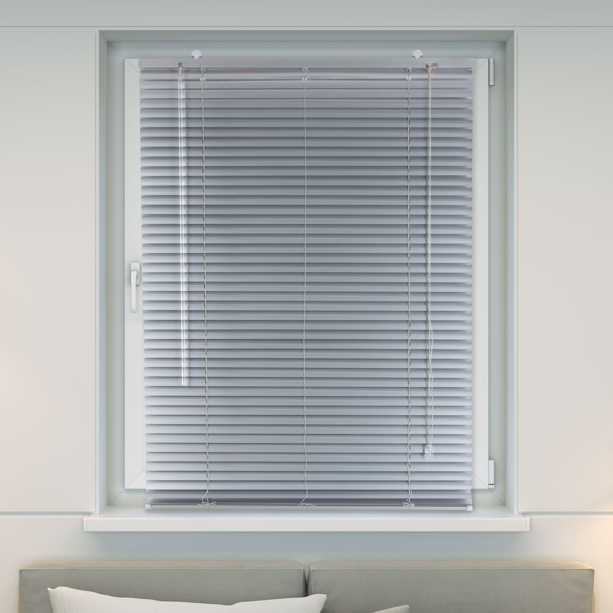 20000020 i6 silber - Persiana de aluminio para ventanas y puertas Victoria M también sin taladrar