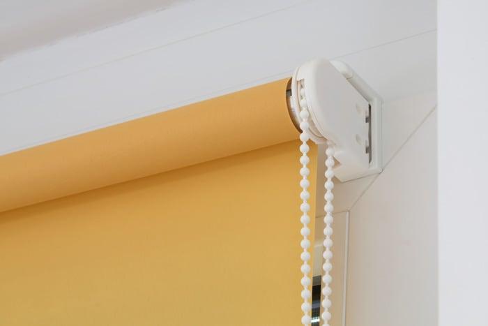 verdunkelungsrollo verdunklungsrollo seitenzug fenster rollo kettenzug kette ebay. Black Bedroom Furniture Sets. Home Design Ideas
