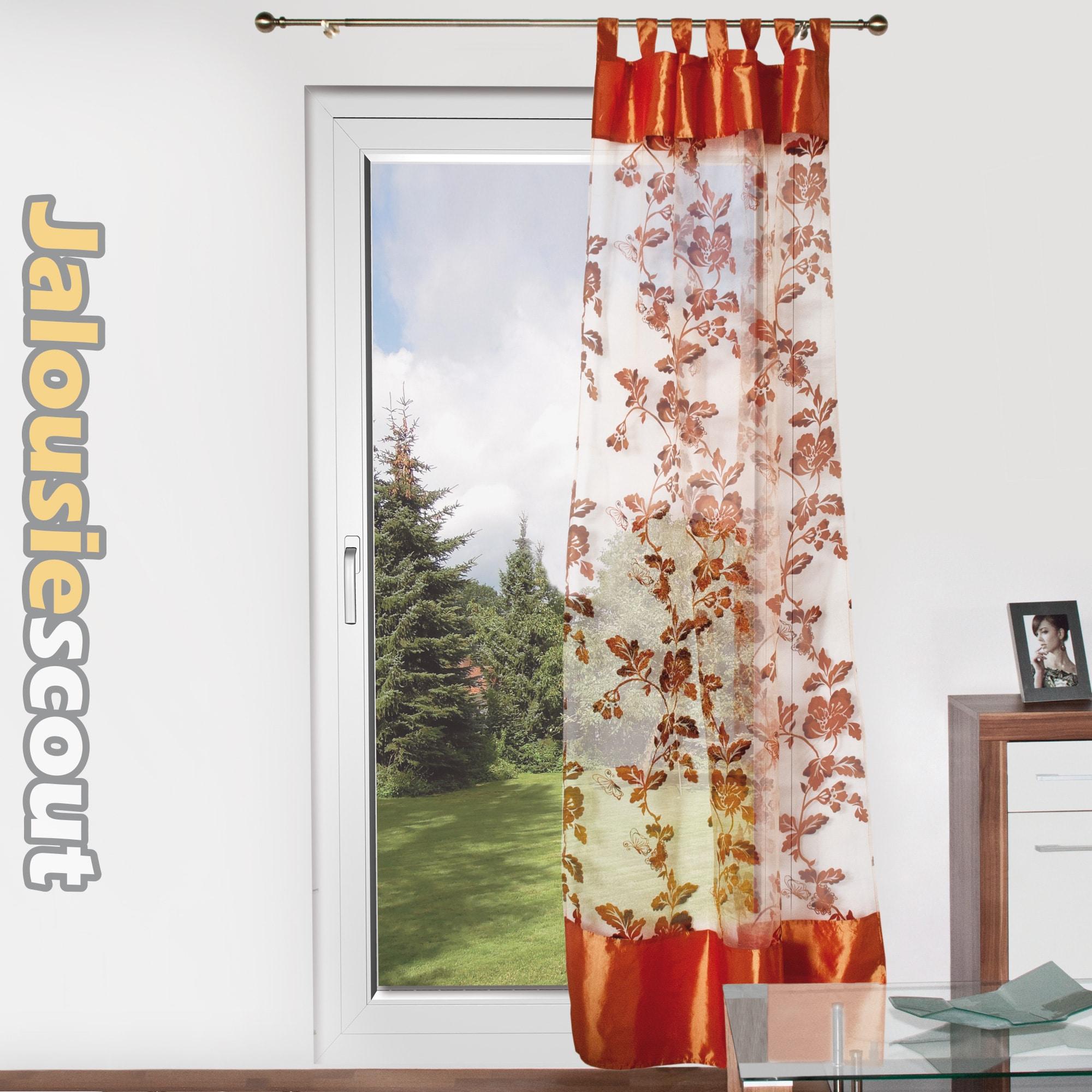 Pailletten store voile schlaufenschla vorhang deko glitzer fenster gardinen ebay - Gardinen wandhalter ...