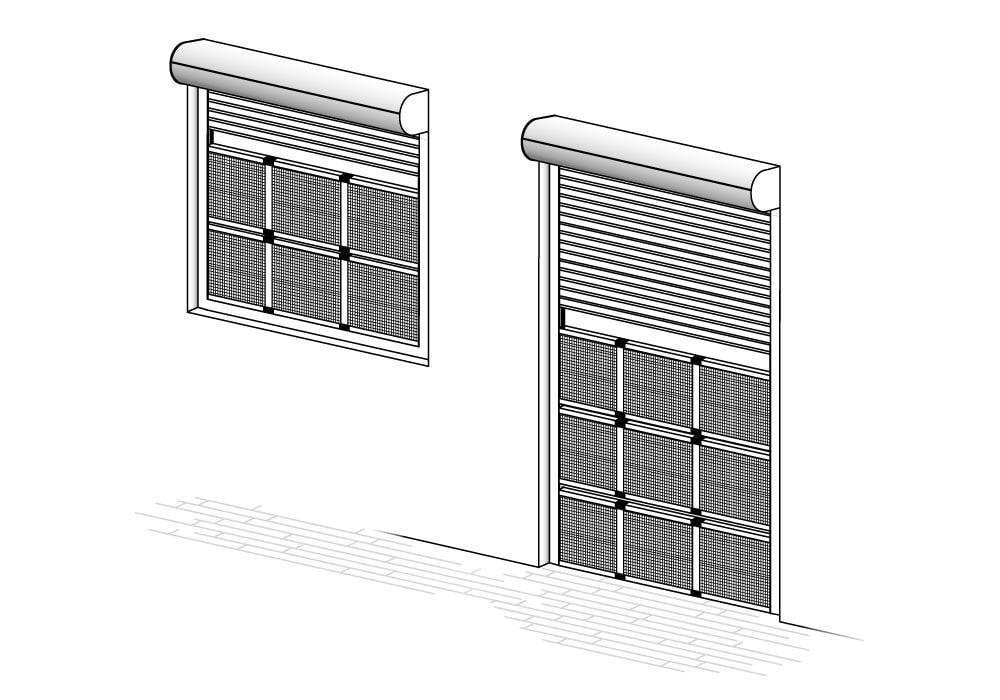 Montage - JAROLIFT Schiebfix Insektenschutz Schieberahmen für Fenster und Türen