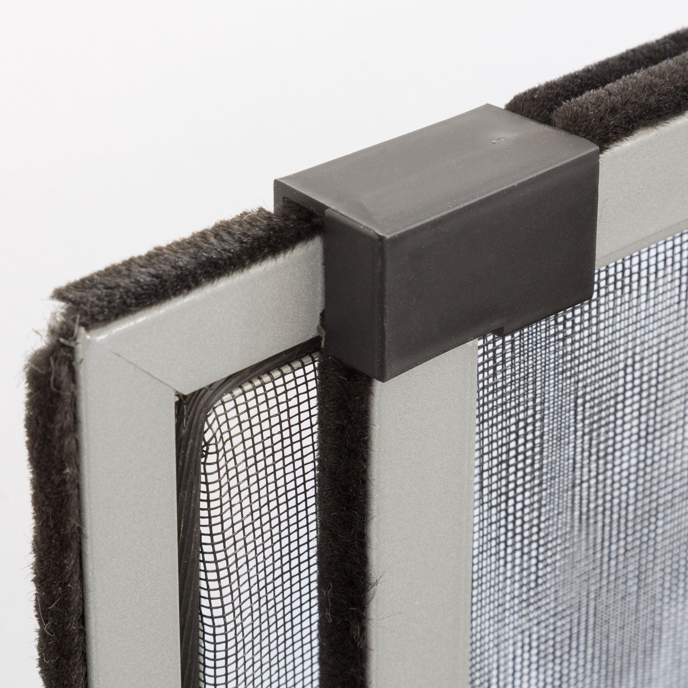 insektenschutz rahmen fliegengitter schieberahmen alurahmen ohne bohren gitter ebay. Black Bedroom Furniture Sets. Home Design Ideas