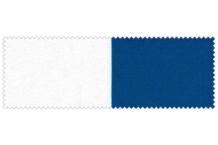 Markise / Gelenkarmmarkise Basic - JAROLIFT Blockstreifen Blau-Weiß