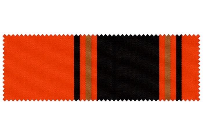 Markise / Gelenkarmmarkise Basic - JAROLIFT Multistreifen Orange-Schwarz
