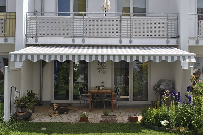 toldo alu gelenkarmmarkise alumarkise protecci n solar terrassenmarkise 250x150cm ebay. Black Bedroom Furniture Sets. Home Design Ideas