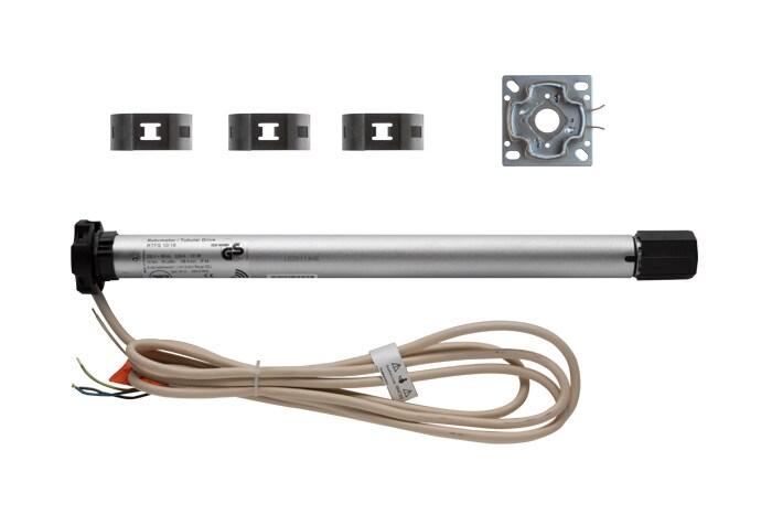 RADEMACHER DuoFern Funk Rollladenmotoren Typ RTFS / RTFM - Verpackungsinhalt RTFS