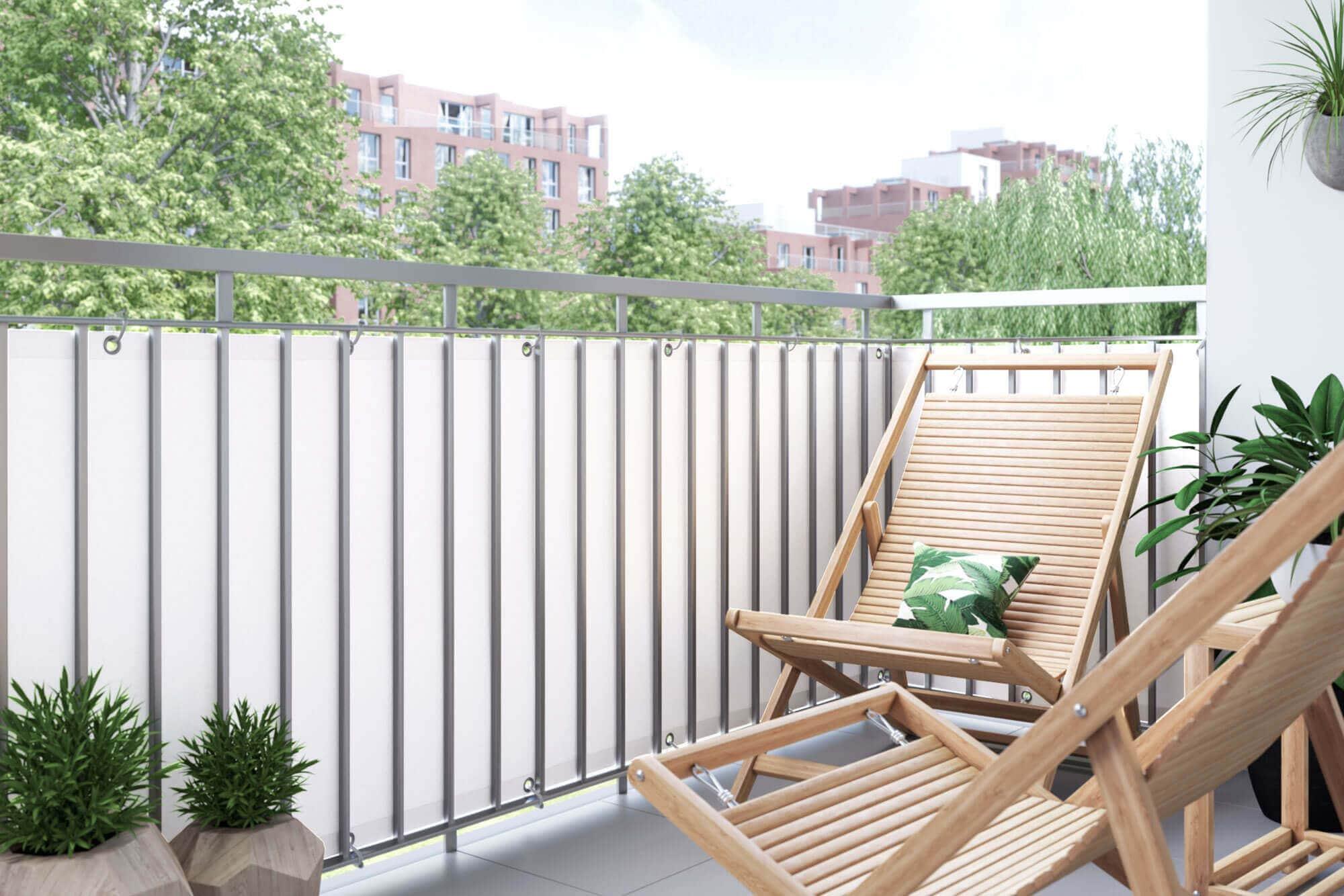 Sichtschutz-Balkon-Zaun-Windschutz-Balkonbespannung-Balkonverkleidung-JAROLIFT