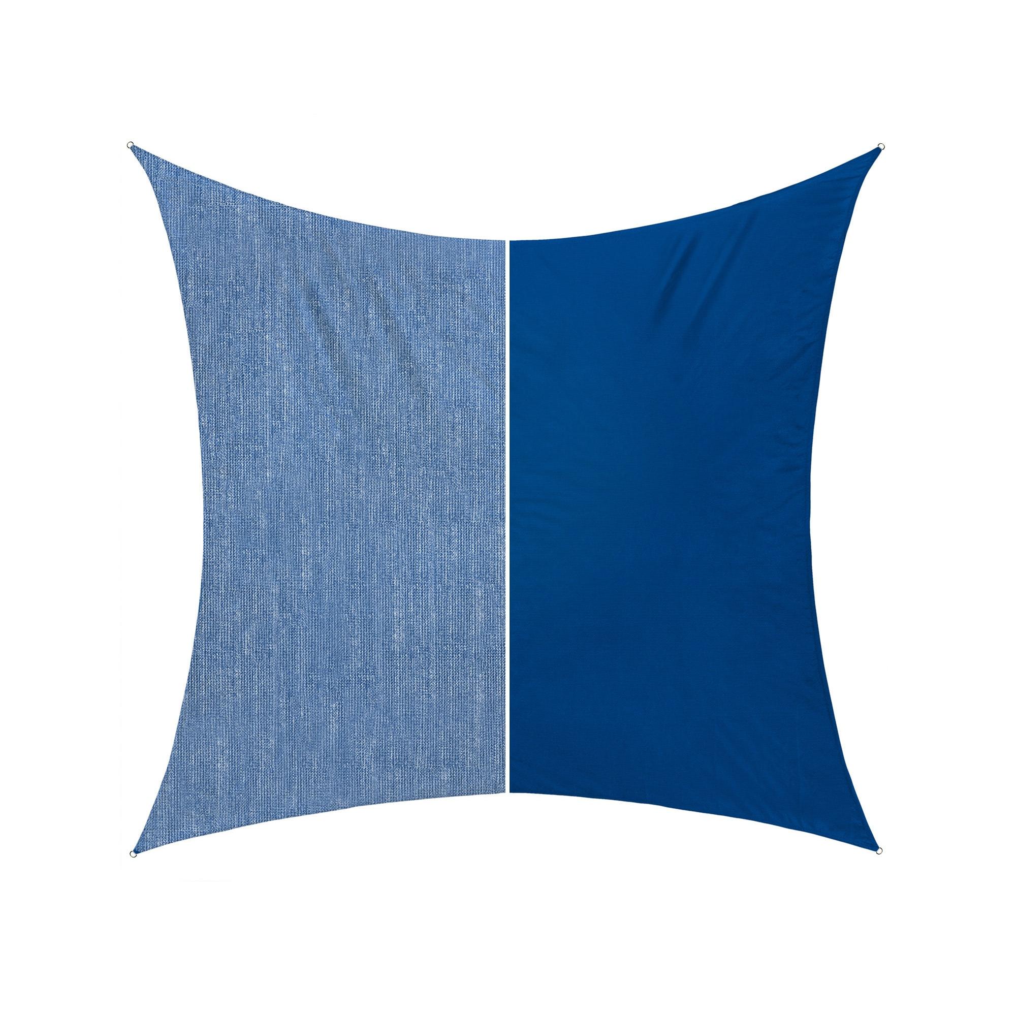 sonnensegel orange 360 x 360cm windschutz viereck f r garten balkon terrasse ebay. Black Bedroom Furniture Sets. Home Design Ideas
