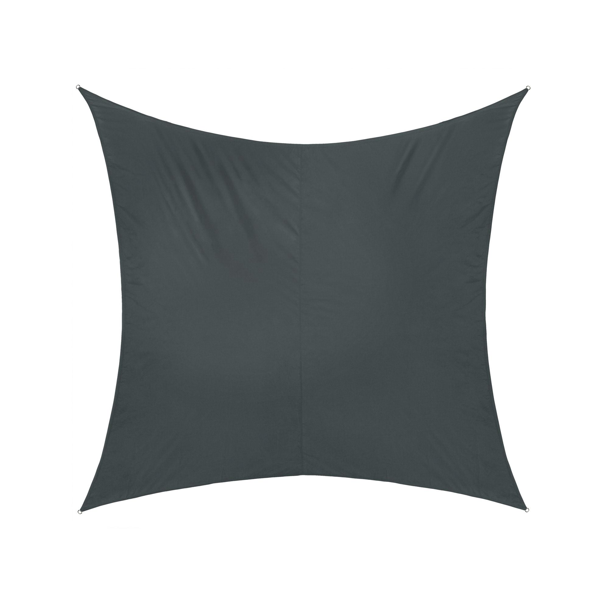 Sonnensegel Grau Anthrazit 400 X 300cm 3x4m Windschutz