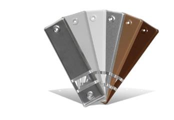 JAROLIFT®™ Design Abdeckplatten für Rollladen Einlass-Gurtwickler