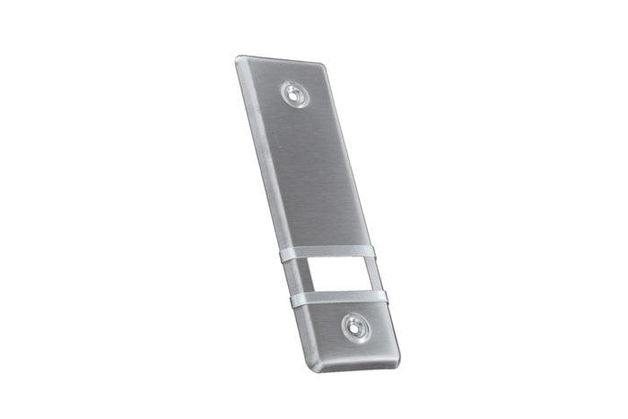 JAROLIFT Design Edelstahl-Abdeckplatte für Gurtwickler
