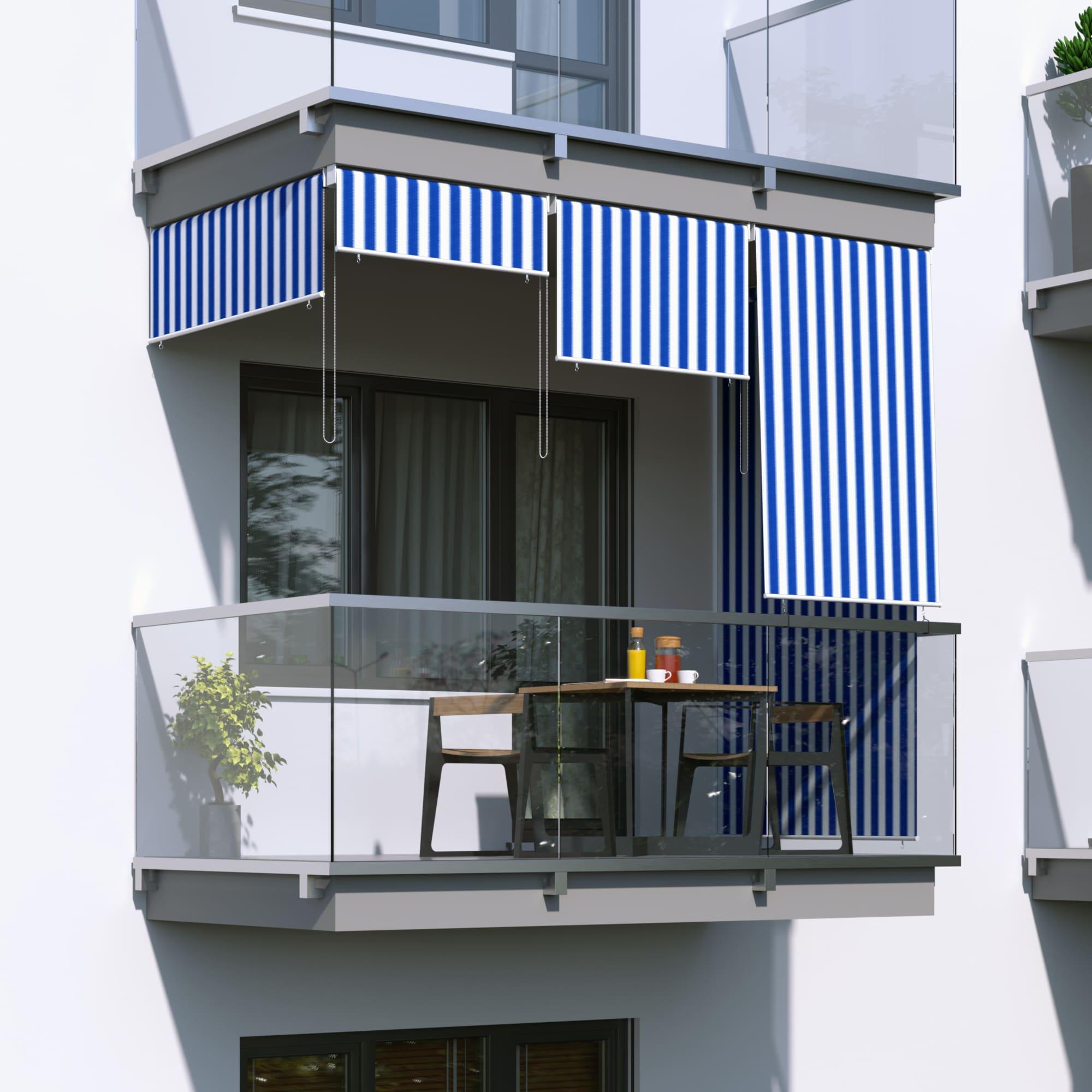 Jarolift Senkrechtmarkise Sichtschutz Aussenrollo Sonnenschutz