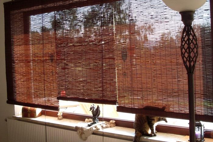 fenster sichtschutz rollos aus bambus victoria m. Black Bedroom Furniture Sets. Home Design Ideas