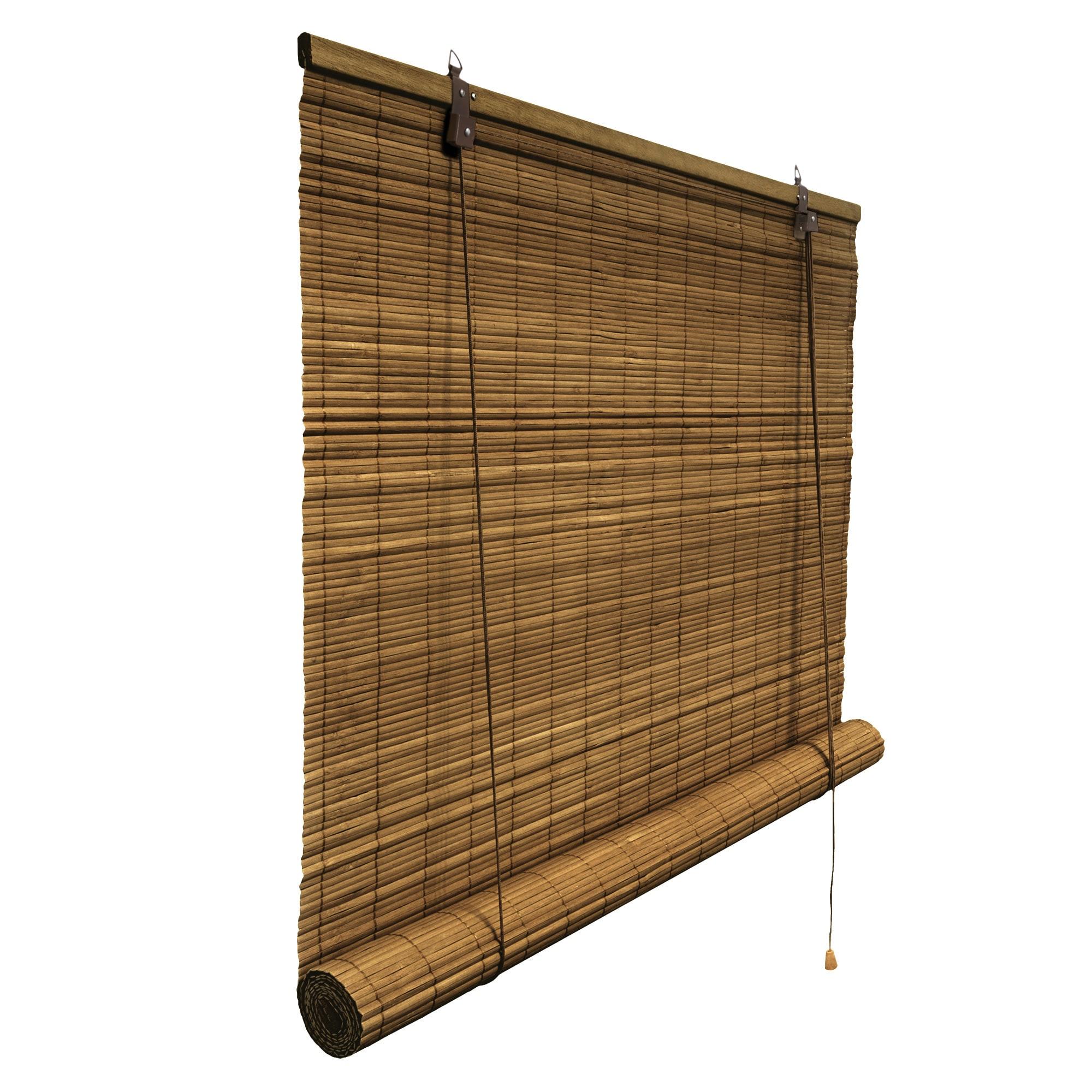 Bambusrollo Rollo Bambus Jalousie Vorhang Bambus Seitenzug Schnurzug Holzrollo  eBay