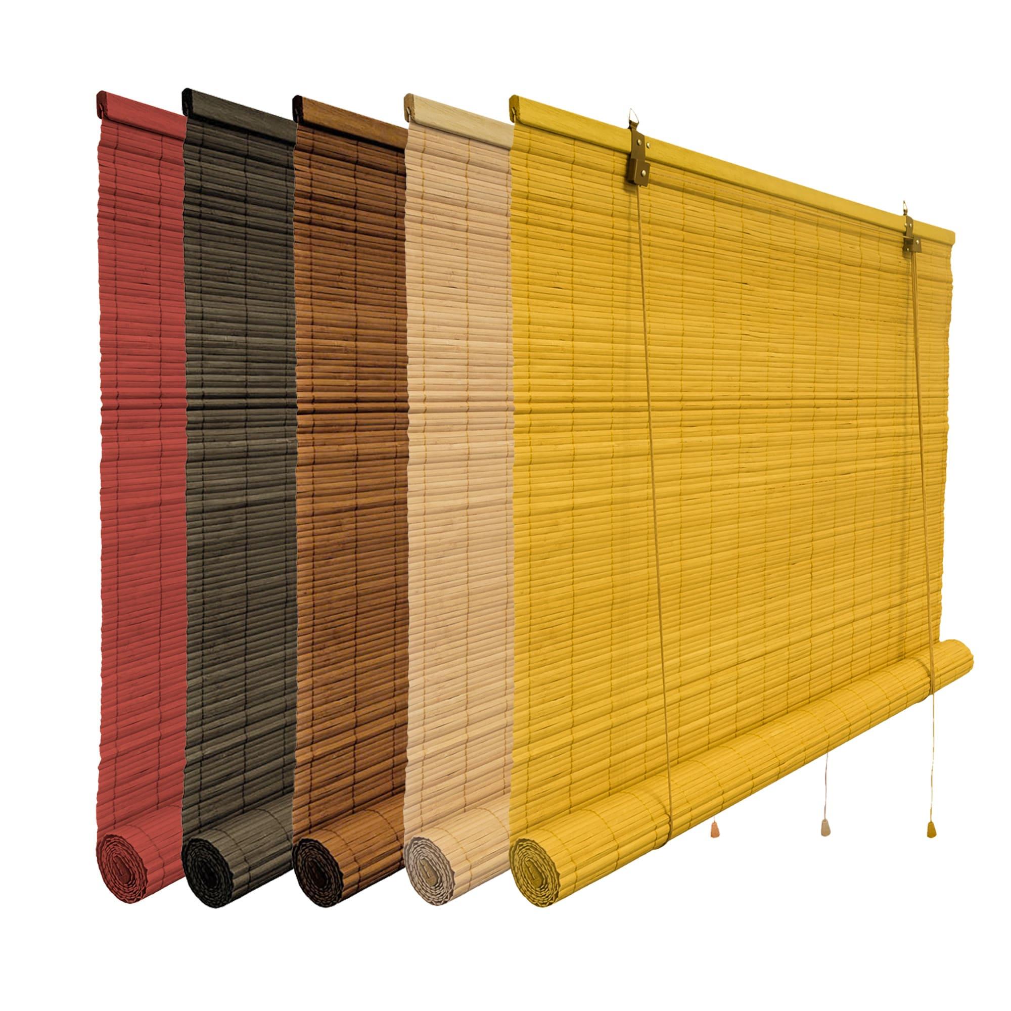 bambus rollo bambusrollo schnurzug natur sichtschutz jalousie vorhang victoria m ebay. Black Bedroom Furniture Sets. Home Design Ideas