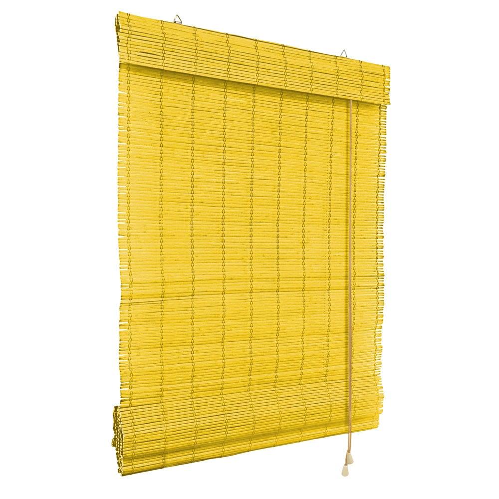Store-bateau-en-bambou-pour-l-039-interieur-corde-rideaux-stores-romains-VICTORIA-M miniature 22