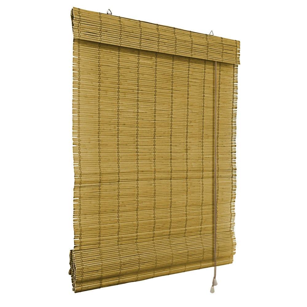 Store-bateau-en-bambou-pour-l-039-interieur-corde-rideaux-stores-romains-VICTORIA-M miniature 6
