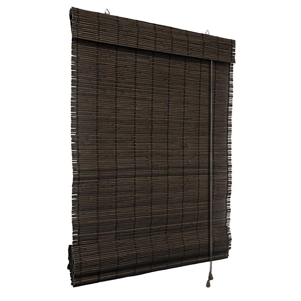 Store-bateau-en-bambou-pour-l-039-interieur-corde-rideaux-stores-romains-VICTORIA-M miniature 14