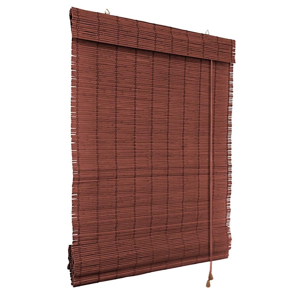 Store-bateau-en-bambou-pour-l-039-interieur-corde-rideaux-stores-romains-VICTORIA-M miniature 30