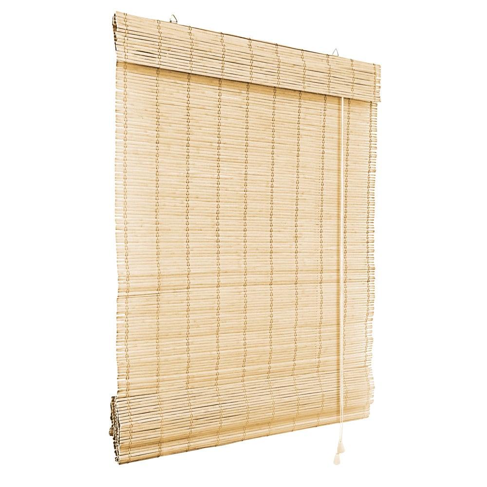 Store-bateau-en-bambou-pour-l-039-interieur-corde-rideaux-stores-romains-VICTORIA-M miniature 38