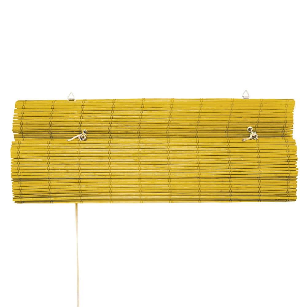 Store-bateau-en-bambou-pour-l-039-interieur-corde-rideaux-stores-romains-VICTORIA-M miniature 23