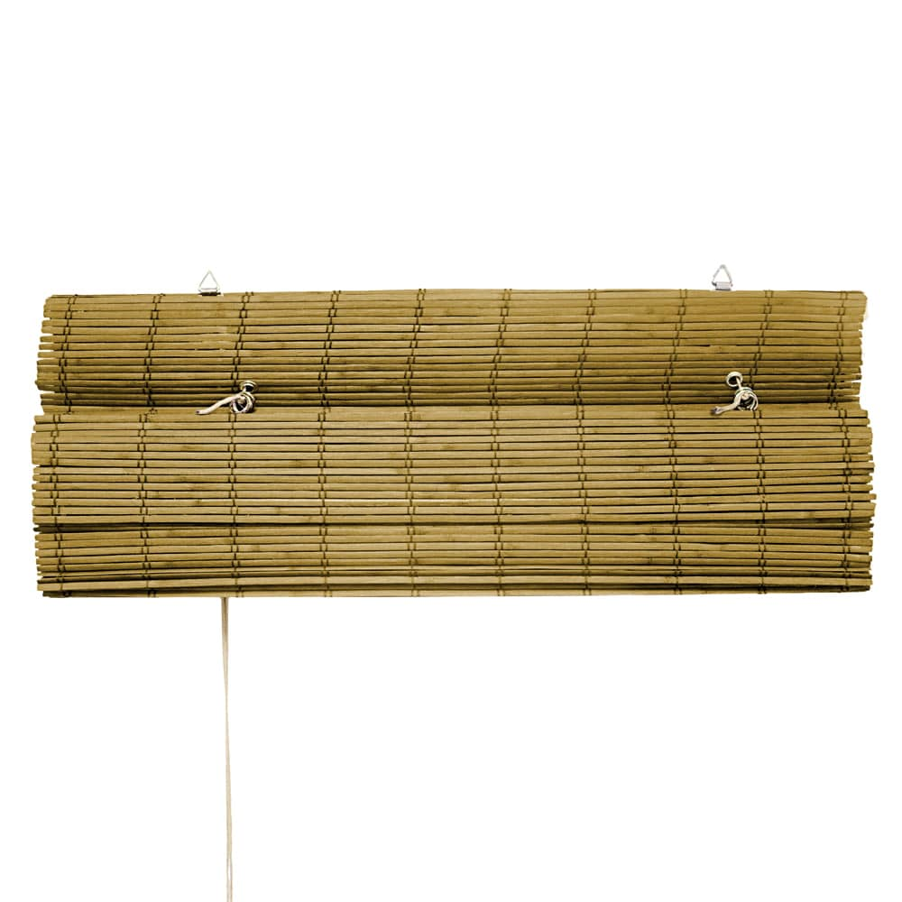 Store-bateau-en-bambou-pour-l-039-interieur-corde-rideaux-stores-romains-VICTORIA-M miniature 7