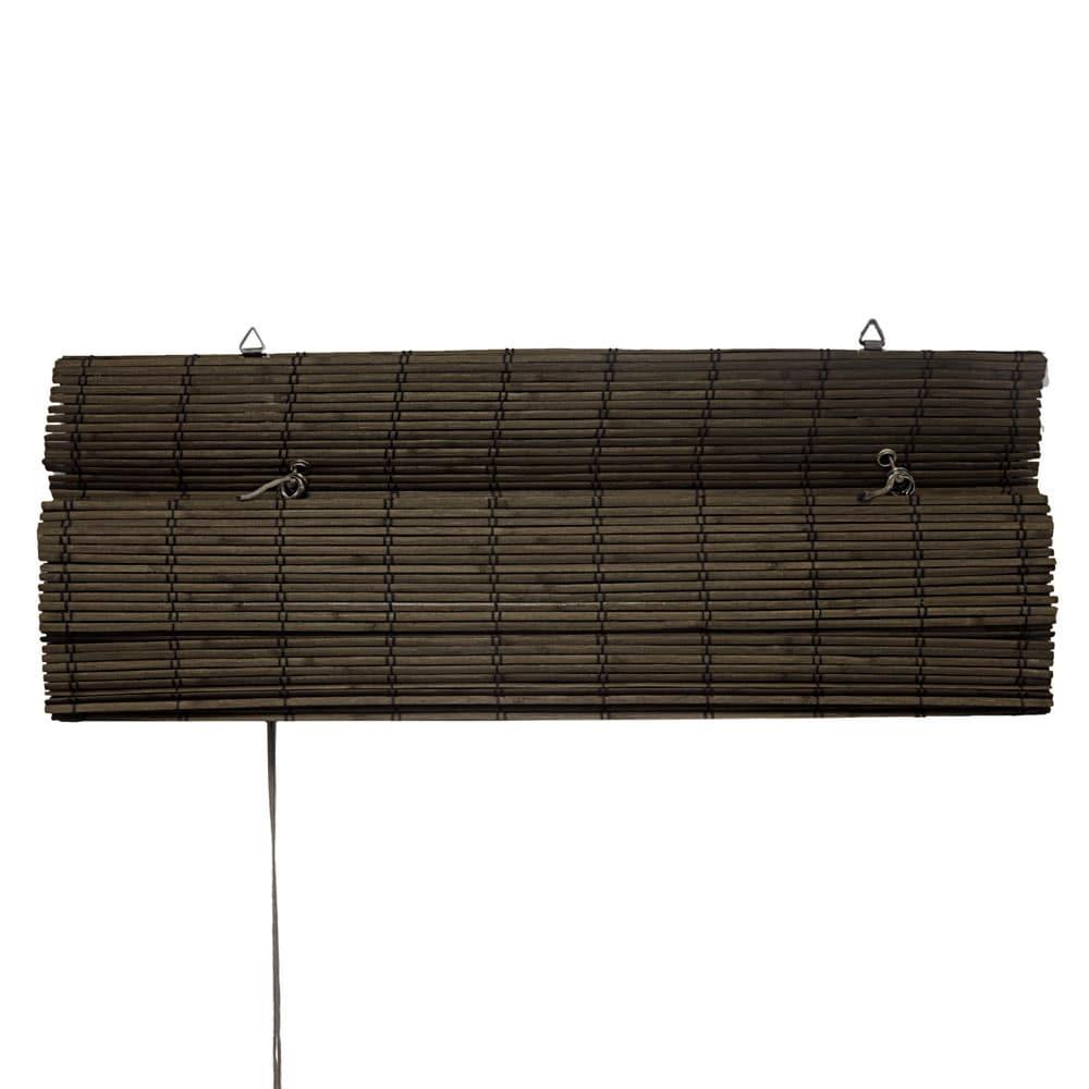 Store-bateau-en-bambou-pour-l-039-interieur-corde-rideaux-stores-romains-VICTORIA-M miniature 15