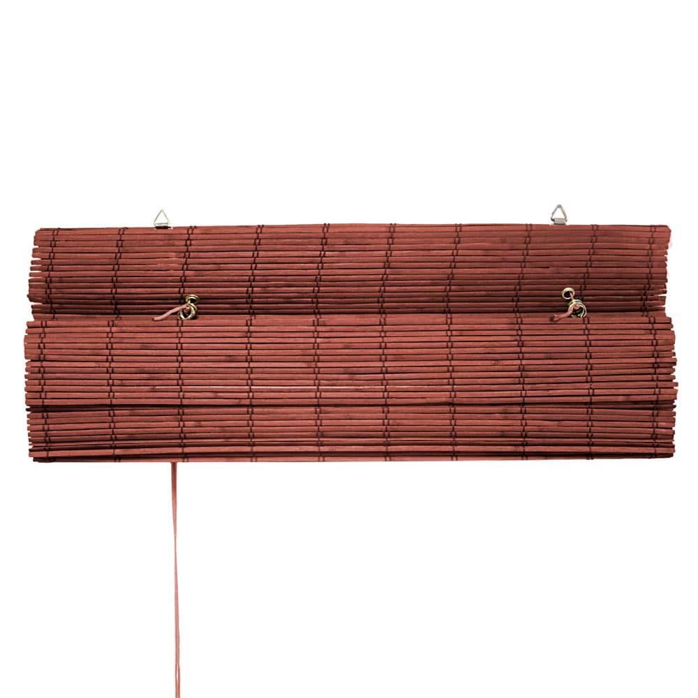 Store-bateau-en-bambou-pour-l-039-interieur-corde-rideaux-stores-romains-VICTORIA-M miniature 31