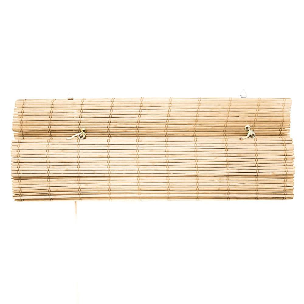 Store-bateau-en-bambou-pour-l-039-interieur-corde-rideaux-stores-romains-VICTORIA-M miniature 39