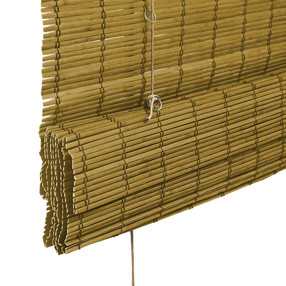 Store-bateau-en-bambou-pour-l-039-interieur-corde-rideaux-stores-romains-VICTORIA-M miniature 8