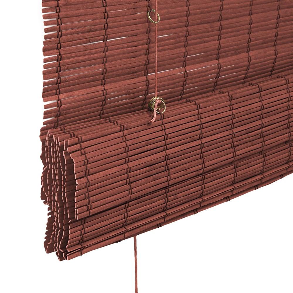 Store-bateau-en-bambou-pour-l-039-interieur-corde-rideaux-stores-romains-VICTORIA-M miniature 32