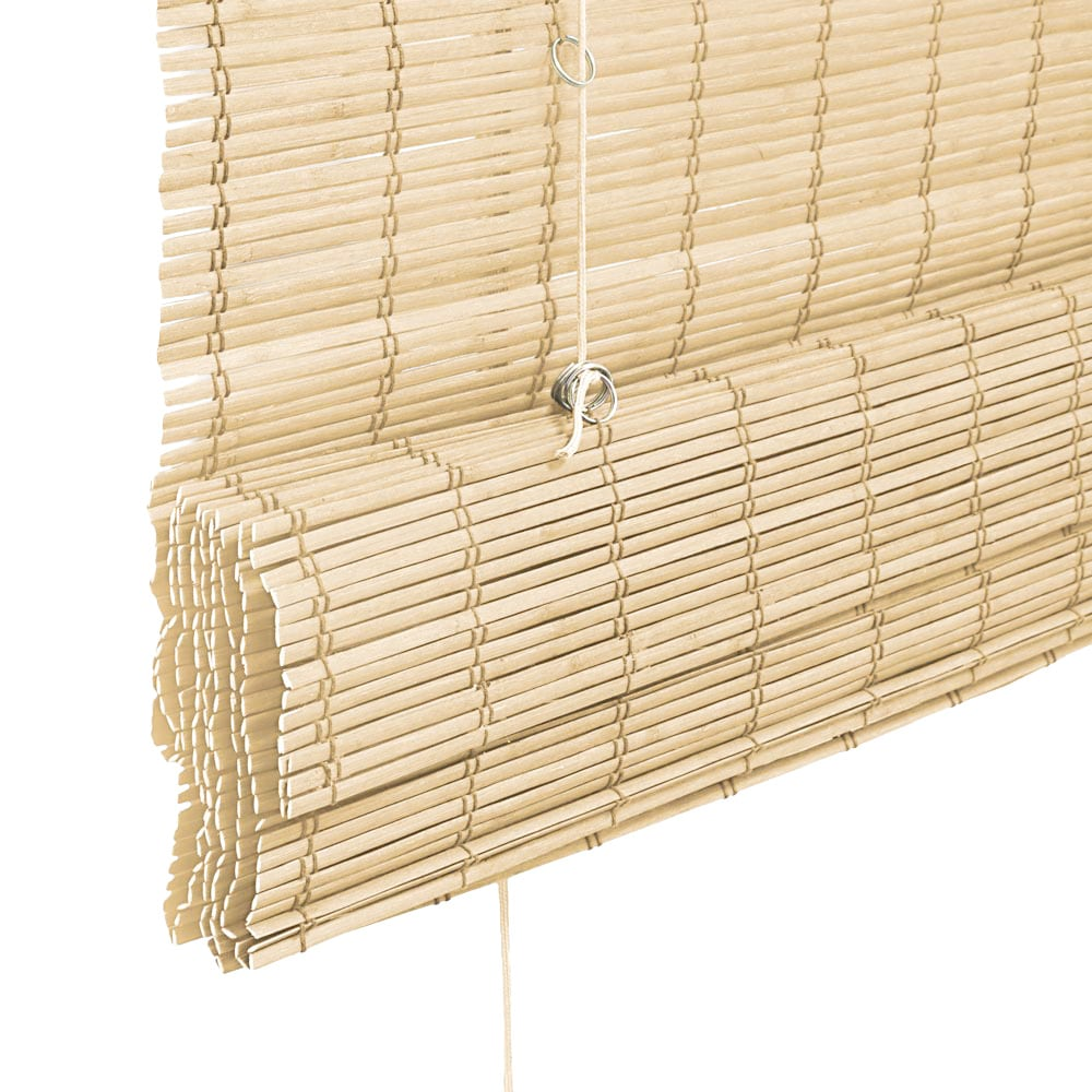 Store-bateau-en-bambou-pour-l-039-interieur-corde-rideaux-stores-romains-VICTORIA-M miniature 40